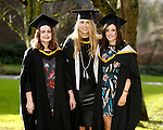 REPRO FREE<br /> 20/01/2015<br /> Sophie Smith, Newbridge, Co. Kildare, Charlotte O'Sullivan, Croom, Co. Limerick and Susan Carey, Ballina, Co. Tipperary who graduated with Masters in International Management and Global Business as the University of Limerick continues three days of Winter conferring ceremonies which will see 1831 students conferring, including 74 PhDs. <br /> UL President, Professor Don Barry highlighted the increasing growth in demand for UL graduates by employers and the institution&rsquo;s position as Sunday Times University of the Year. <br /> Picture: Don Moloney / Press 22