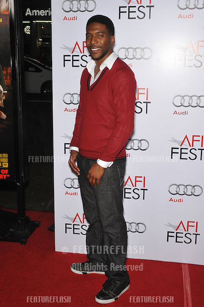 """Crash"" star Jocko Sims at the Los Angeles premiere of ""Fantastic Mr. Fox"" - the gala opening night of the AFI Fest 2009 -  at Grauman's Chinese Theatre, Hollywood..October 30, 2009  Los Angeles, CA.Picture: Paul Smith / Featureflash"