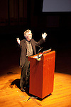 "Tom Skerritt makes an introduction.<br /> Art Wolfe presentation ""Between Heaven and Earth"" at Benaroya Hall, Seattle on May 27, 2010.<br /> Sponsored by Kenmore Camera and Canon USA."