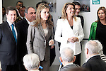 "Princess Letizia of Spain and Maria Dolores de Cospedal, President of Castilla La Mancha Region, during the opening of the home for the elderly ""El Greco"".October 29,2013. (ALTERPHOTOS/Acero)"
