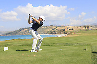 Alexander Knappe (GER) during the second round of the Rocco Forte Sicilian Open played at Verdura Resort, Agrigento, Sicily, Italy 11/05/2018.<br /> Picture: Golffile | Phil Inglis<br /> <br /> <br /> All photo usage must carry mandatory copyright credit (&copy; Golffile | Phil Inglis)