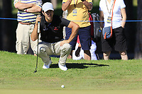 Jorge Campillo (ESP) at the 10th green during Thursday's Round 1 of the 2018 Turkish Airlines Open hosted by Regnum Carya Golf &amp; Spa Resort, Antalya, Turkey. 1st November 2018.<br /> Picture: Eoin Clarke | Golffile<br /> <br /> <br /> All photos usage must carry mandatory copyright credit (&copy; Golffile | Eoin Clarke)