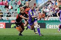 Natasha Hunt of England during the iRB Marriott London Sevens at Twickenham on Sunday 13th May 2012 (Photo by Rob Munro)