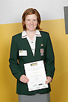 Cricket Girls Winner - Katie Perkins. ASB College Sport Young Sportsperson of the Year Awards 2006, held at Eden Park on Thursday 16th of November 2006.<br />