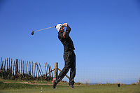 Harry Duval during Round Two of the West of England Championship 2016, at Royal North Devon Golf Club, Westward Ho!, Devon  23/04/2016. Picture: Golffile | David Lloyd<br /> <br /> All photos usage must carry mandatory copyright credit (&copy; Golffile | David Lloyd)