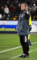 25 October 08: Rapids coach Gary Smith during a game against Real Salt Lake. Real Salt Lake tied the Colorado Rapids 1-1 at Dick's Sporting Goods Park in Commerce City, Colorado. The tie advanced Real Salt Lake to the playoffs.