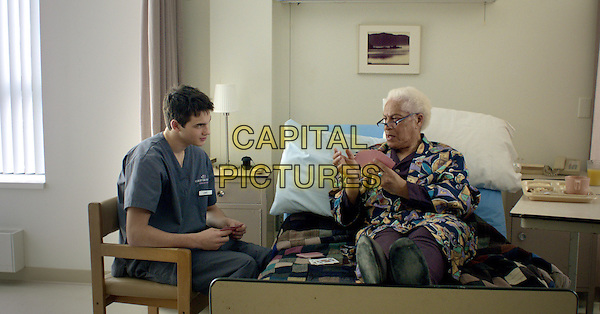 Pier-Gabriel Lajoie &amp; Walter Borden<br /> in Gerontophilia (2013) <br /> *Filmstill - Editorial Use Only*<br /> CAP/NFS<br /> Image supplied by Capital Pictures