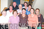 SENIOR: The senior citzens of Kilmoyley were treated to a night out at Ballyroe Heights Hotel, Tralee, on Thursday. Front l-r: Anne Mai Fitzell, Bridie McGovern, Bridget Breen, Josephine Conway and Kitty O'Flaherty. Back were Noreen Dunne, John Harris, Johnny Nolan, Hannah Griffin and Kathy Cantillon..