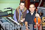 Members of Kilflynn choir at rehearsals on Sunday were Fergus O'Sullivan, Sean Abeyta