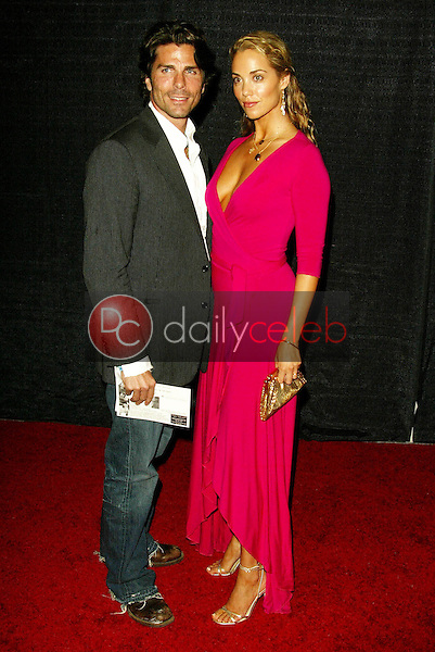 """Greg Lauren and Elizabeth Berkley<br /> At the """"Sounds of the Sacred, Songs of the Earth"""" awards gala, The Friars of Beverly Hills, Beverly Hills, CA 09-15-05<br /> Jason Kirk/DailyCeleb.com 818-249-4998"""