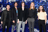 Blossoms arriving for the Global Awards 2018 at the Apollo Hammersmith, London, UK. <br /> 01 March  2018<br /> Picture: Steve Vas/Featureflash/SilverHub 0208 004 5359 sales@silverhubmedia.com
