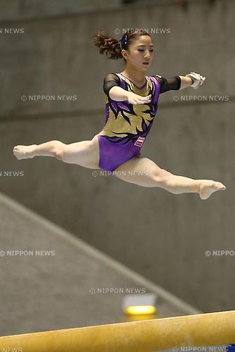 Asuka Teramoto,  <br /> JUNE 5, 2016 - Artistic Gymnastics : <br /> The 70th All Japan Artistic Gymnastics Apparatus Championship <br /> Women's Balance Beam Final <br /> at 1st Yoyogi Gymnasium, Tokyo, Japan. <br /> (Photo by YUTAKA/AFLO SPORT)
