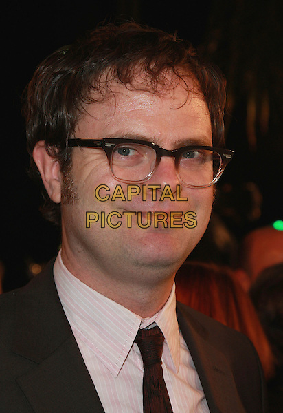 "RAINN WILSON.""Juno"" Los Angeles Premiere held at Mann's Village Theater, Westwood, California, USA, 03 December 2007..portrait headshot glasses.CAP/ADM/CH.©Charles Harris/AdMedia/Capital Pictures."