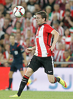 Athletic de Bilbao's Javi Eraso during Supercup of Spain 1st match.August 14,2015. (ALTERPHOTOS/Acero)