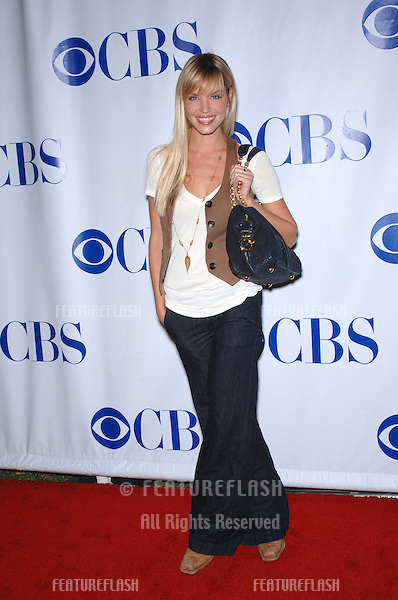 "Jericho star Ashley Scott at the CBS Summer Press Tour ""Stars Party 2007"" on the Wadsworth Theatre Great Lawn..July 20, 2007  Los Angeles, CA.Picture: Paul Smith / Featureflash"