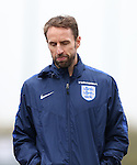 England's Gareth Southgate during training at Tottenham Hotspur training centre, London. Picture date November 14th, 2016 Pic David Klein/Sportimage