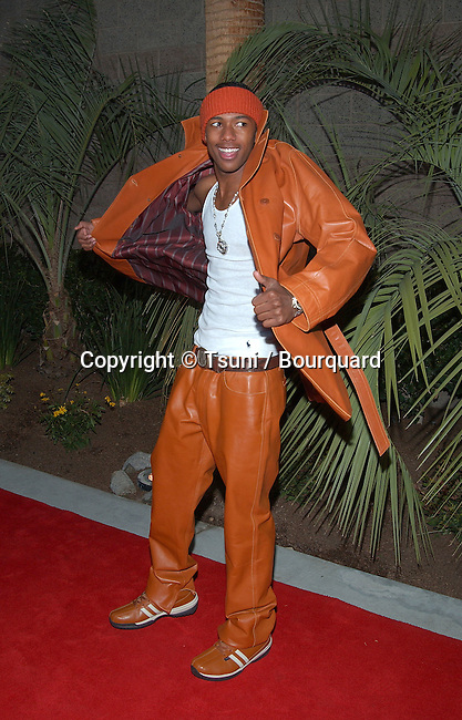 Nick Cannon arrives at the 2002 Fox Billboard Music Awards held at the MGM Grand Hotel in Las Vegas, NV., December 9, 2002.