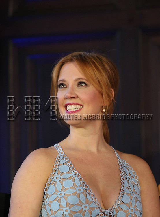 Patti Murin attends the press day for 'Frozen' The Broadway Musical on February 13, 2018 at the Highline Hotel in New York City.