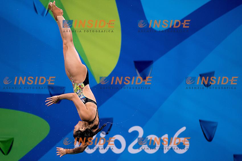 HE Zi CHN<br /> 3m springboard women<br /> Rio de Janeiro  XXXI Olympic Games <br /> Olympic Aquatics Stadium <br /> diving preliminary round 13/08/2016<br /> Photo Giorgio Scala/Deepbluemedia/Insidefoto