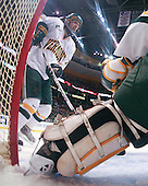 Slavomir Tomko (Vermont - 2) - The Boston College Eagles defeated the University of Vermont Catamounts 4-0 in the Hockey East championship game on Saturday, March 22, 2008, at TD BankNorth Garden in Boston, Massachusetts.