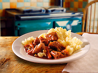Braised Lamb casserole & mashed potato