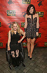 """Ali Stroker and Krysta Rodriguez  attends The Opening Night of the New Broadway Production of  """"Miss Saigon""""  at the Broadway Theatre on March 23, 2017 in New York City"""