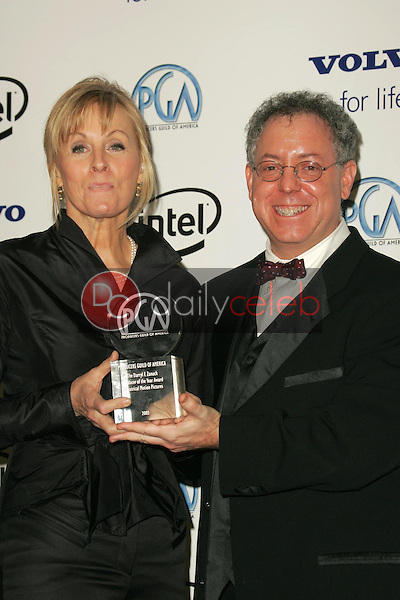 Diana Ossana and James Schamus<br />in the Press Room at the 2006 Producers Guild Awards, Universal Hilton Hotel, Universal City, CA 01-22-06<br />Dave Edwards/DailyCeleb.com 818-249-4998