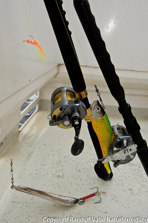Havfiskeutstyr. ---- Deep sea fishing gear.