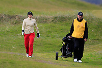 Vanessa Knecht (SWI) on the 1st during Round 2 of the Women's Amateur Championship at Royal County Down Golf Club in Newcastle Co. Down on Wednesday 12th June 2019.<br /> Picture:  Thos Caffrey / www.golffile.ie