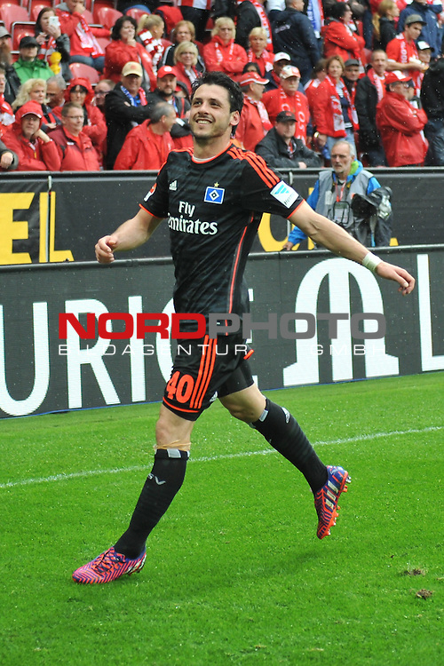 03.05.2015, cofacearena, Mainz, GER, FSV Mainz 05 vs. Hamburger SV, im Bild: Gojko Kacar (#40, Hamburger SV)<br /> <br /> Foto &copy; nordphoto / Fabisch
