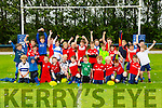 Children at the rugby Summer camp at Tralee Rugby club in O'Dowd Park  on Monday
