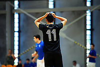 Action from the 2018 Futsal National League tournament final between Auckland FF and Southern Futsal at ASB Sports Centre in Wellington, New Zealand on Sunday, 9 December 2018. Photo: Dave Lintott / lintottphoto.co.nz