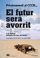Tear sheet JG Ballard Exhibition CCCB-Spain- Background photo is © Sami Sarkis