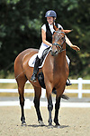 Class 4. British dressage. Brook Farm Training Centre. Essex. UK. 28/07/2018. ~ MANDATORY Credit Garry Bowden/Sportinpictures - NO UNAUTHORISED USE - 07837 394578