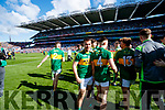Ryan O'Neill Kerry players celebrate after defeating Derry in the All-Ireland Minor Footballl Final in Croke Park on Sunday.