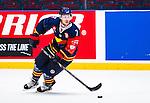 Stockholm 2014-08-21 Ishockey CHL Djurg&aring;rdens IF - Fribourg-Gotteron  :  <br /> Djurg&aring;rdens Sebastian Lauritzen i aktion <br /> (Foto: Kenta J&ouml;nsson) Nyckelord:  Djurg&aring;rden Hockey Hovet CHL Fribourg Gotteron portr&auml;tt portrait
