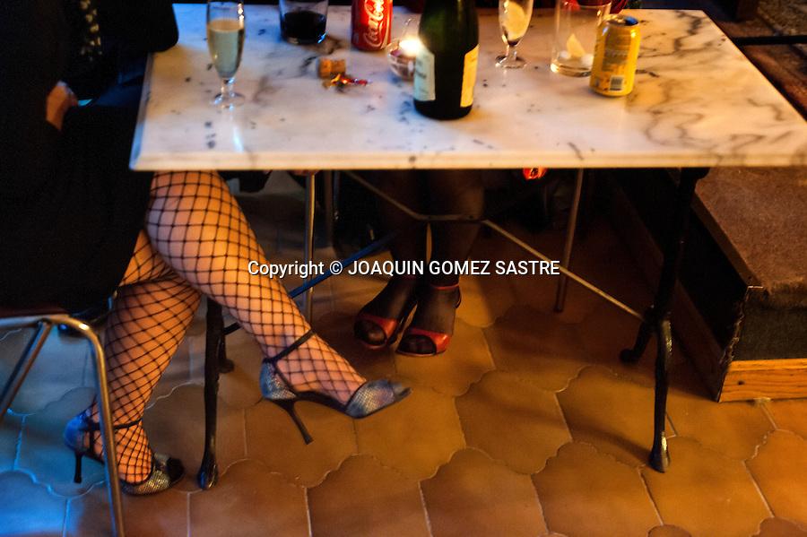 The Saturday meeting there milongas or dance at the La Pe&ntilde;a Friends of Tango.<br />  PHOTO &copy; JOAQUIN GOMEZ  SASTRE