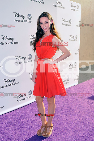 Emma Dumont at the Disney Media Networks International Upfronts at Walt Disney Studios on May 20, 2012 in Burbank, California. ©mpi35/MediaPunch Inc.