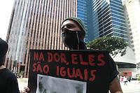 SÃO PAULO, SP - 31.08.2013: MANIFESTAÇÃO CONTRA MC DIA FELIZ - Grupo faz manifestação contra o Mc Dia Feliz na Av Paulista em São Paulo neste sábado (31). (Foto: Marcelo Brammer/Brazil Photo Press)