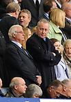 Entertainer Michael Barrymore in the Everton directors box during the Premier League match at Goodison Park  Stadium, Liverpool. Picture date 27th April 2008. Picture credit should read: Simon Bellis/Sportimage