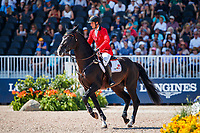 BEL-Nicola Philippaerts rides H&M Chilli Willi during the FEI World Team and Individual Jumping Championships. 2018 FEI World Equestrian Games Tryon. Friday 21 September. Copyright Photo: Libby Law Photography