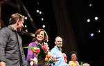 "Curtain Call - ATWT Billy Magnussen, Sigourney Weaver, David Hyde Pierce star iin Broadway's ""Vanya and Sonia and Masha and Spike"" which had its opening night on March 14, 2013 at the Golden Theatre, New York City, New York.  (Photo by Sue Coflin/Max Photos)"