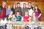 30TH PARTY: Michelle Grace Collins, Strand, Tournafulla (1st left), celebrated her 30th birthday in Leen's Hotel, Abbeyfeale, on Saturday night with her family. Pictured front l-r: Michelle Grace, Michael, Francie, Mae and Mary Collins. Back l-r: Gerry, Mary, Noirin, Fergal and Donal Collins, Diarmuid Grace and Sinead Collins.   Copyright Kerry's Eye 2008