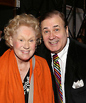 Tammy Grimes and Lee Roy Reams attends the '12th Annual Love N' Courage' celebrating David Amram and Tammy Grimes at The Players Club on March 2,, 2015 in New York City.