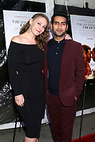 """LOS ANGELES - DEC 4:  Emily V Gordon, Kumail Nanjiani at the """"If Beale Street Could Talk"""" Screening at the ArcLight Hollywood on December 4, 2018 in Los Angeles, CA"""