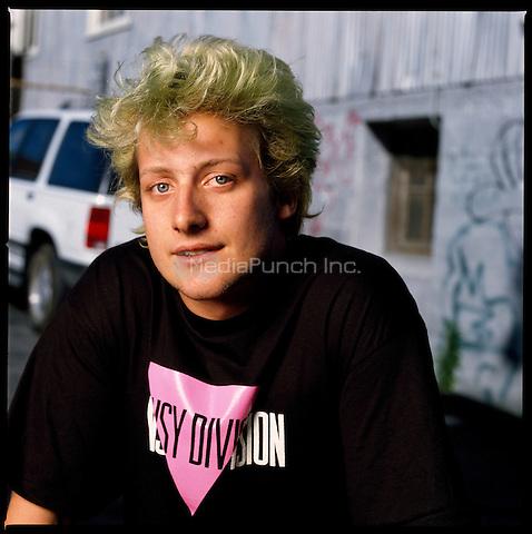 San Francisco CA July 4: Portraits taken of GreenDay on July 4, 1994 Credit: Jay Blakesberg/MediaPunch **Higher Rates Apply**