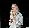 People, Places and Things <br /> by Duncan Macmillan <br /> directed by Jeremy Herrin <br /> at the Dorfman Theatre, NT, Southbank, London, Great Britain <br /> press photocall <br /> 28th August 2015 <br /> <br /> Denise Gough <br /> as Emma<br /> <br /> Photograph by Elliott Franks <br /> Image licensed to Elliott Franks Photography Services
