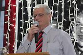 Counties Manukau Rugby Union President Richard Hull. Counties Manukau Rugby Unions Senior Prize giving held at ECOLight Stadium Pukekohe on Wednesday November 2nd, 2016.<br /> Photo by Richard Spranger.