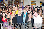 -30 ROCK: Subrina O'Regan, Ballinorig, Tralee (centre) had Dowdies bar, Tralee, rocking last Saturday night for her 30th birthday celebrations..