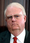 Washington, D.C. - April 20, 2005 -- United States Representative F. James Sensenbrenner (Republican of the 5th District of Wisconsin) attends the signing of the Bankruptcy Reform Bill in Washington, D.C. on April 20, 2005.  Representative Sensenbrenner is the Chairman of the United States House Committee on the Judiciary.<br /> Credit: Ron Sachs / CNP